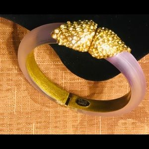 ALEXIS BITTAR Crystal Embellished Bangle Bracelet